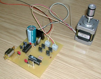 Vimms 2 automation corner for Low cost stepper motor
